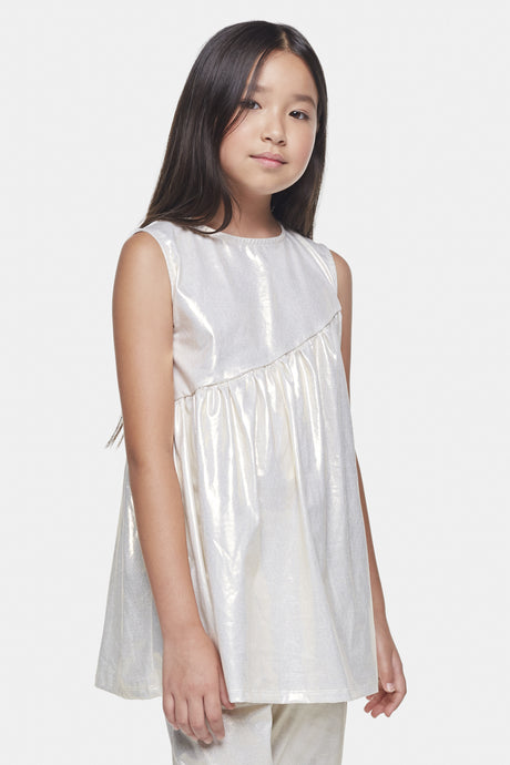 Coco Au Lait Gold dress Dress Afterglow