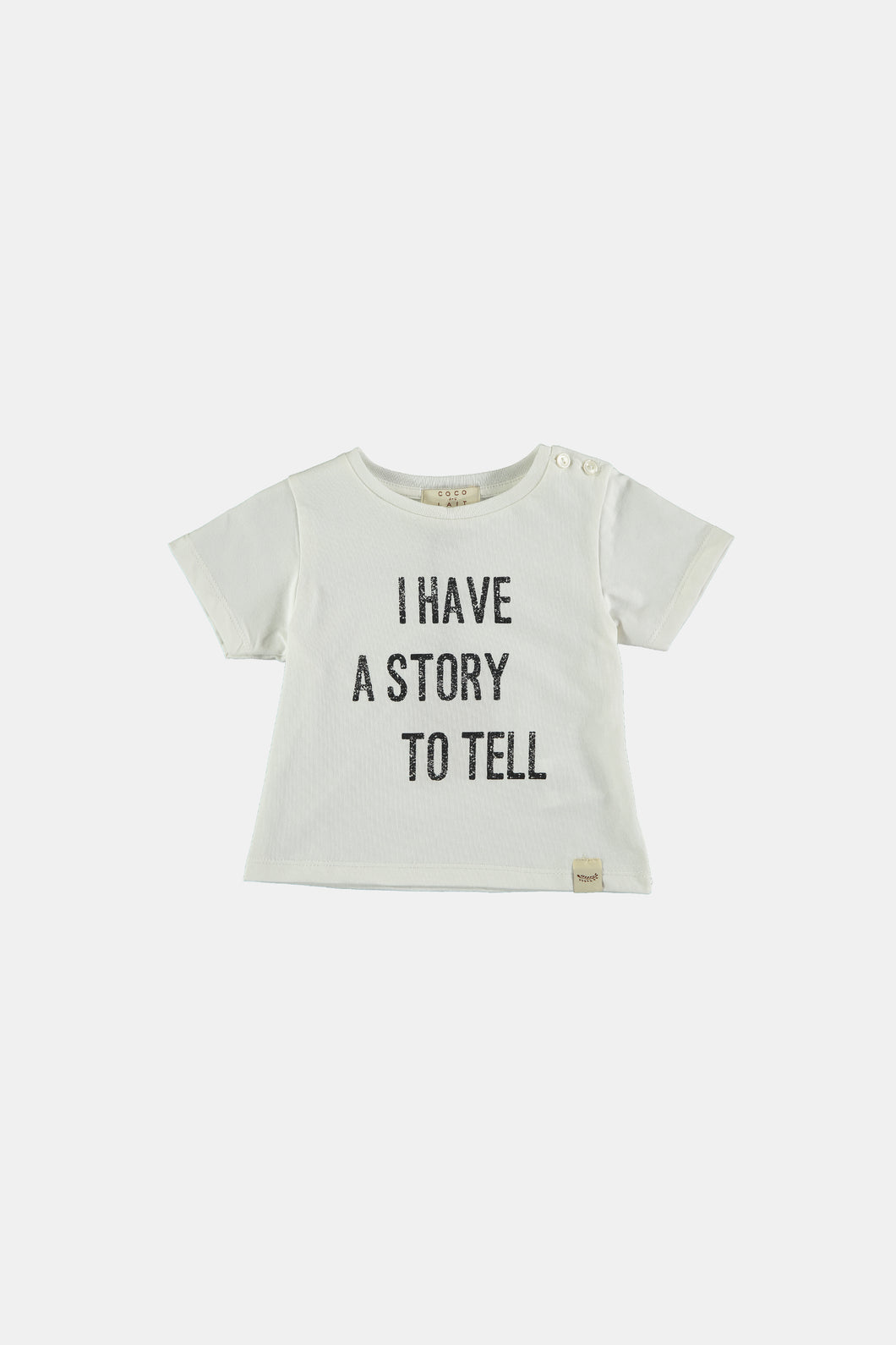 Coco Au Lait I Have A Story To Tell White Baby T-shirt T-Shirt White