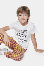 Load image into Gallery viewer, Coco Au Lait I Have A Story To Tell White Baby T-shirt T-Shirt White