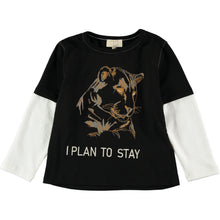 Load image into Gallery viewer, Coco Au Lait I PLAN TO STAY WILD T-SHIRT T-Shirt Caviar