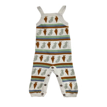 Load image into Gallery viewer, Coco Au Lait KNITTED OVERALL Overall Multicolor Stripes