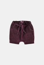 Load image into Gallery viewer, Coco Au Lait Laila Baby Shorts Short Burgundy