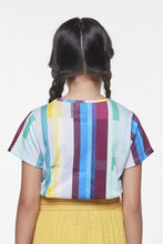 Load image into Gallery viewer, Coco Au Lait Mirror Baby Stripe Tee T-Shirt Multicolor Stripes 2