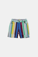 Load image into Gallery viewer, Coco Au Lait Mirror Stripe Shorts Short Multicolor Stripes 2