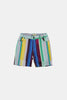 Coco Au Lait Mirror Stripe Shorts Short Multicolor Stripes 2