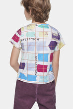 Load image into Gallery viewer, Coco Au Lait Reflections Jersey Tee T-Shirt Multicolor Stripes 1