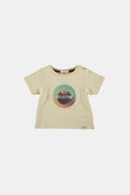 Load image into Gallery viewer, Coco Au Lait Self Reflection Baby Tee T-Shirt Bleached Sand