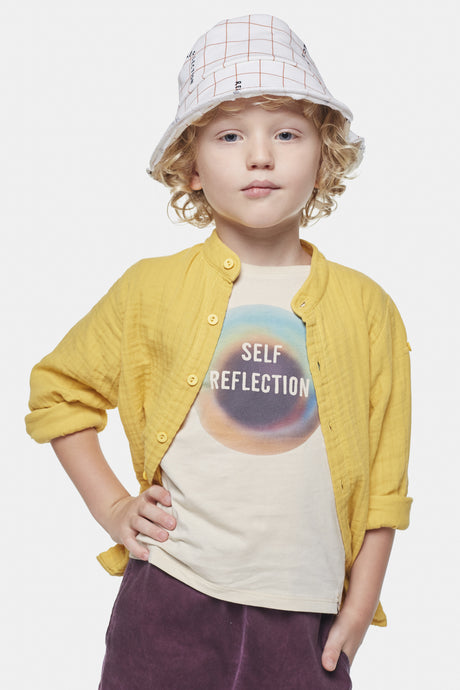 Coco Au Lait Soft Yellow Baby Shirt Shirt Yolk Yellow