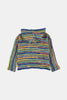 Coco Au Lait Unisex All Over Stripe Cardigan Jacket Multicolor Stripes 1