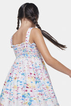 Load image into Gallery viewer, Coco Au Lait Water Colors Baby Long Dress Dress Watercolor