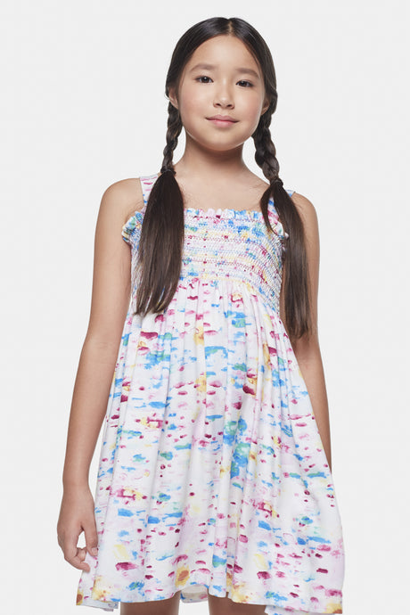 Coco Au Lait Water Colors Dress Dress Watercolor