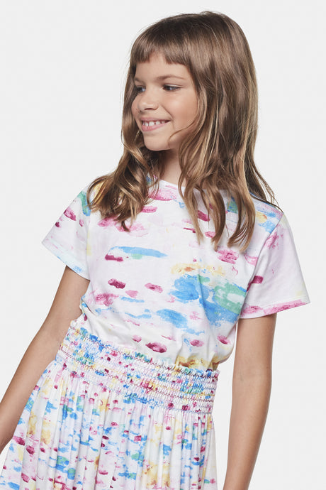 Coco Au Lait Water Colors T-Shirt T-Shirt Watercolor