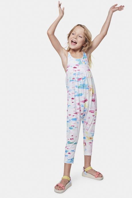 Coco Au Lait Water Colours Jumpsuit Jumpsuit Watercolor