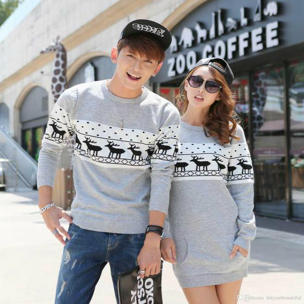 Bring your sweetness to the next level with these couple twinning outfits