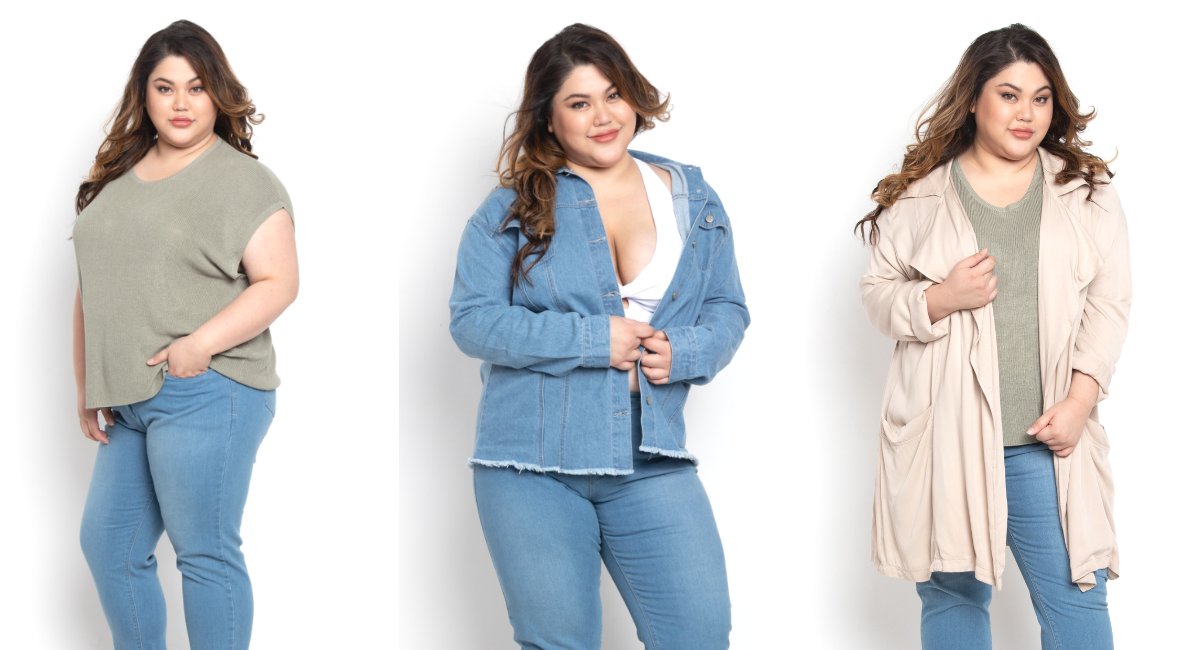 Wardrobe Staples of Plus-Size Women