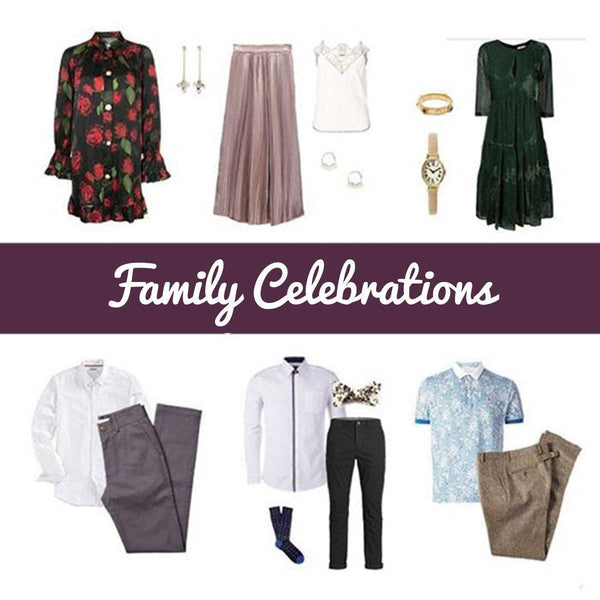 Family Celebrations - StyleGenie | Styling Subscription Box