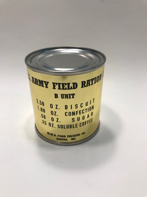 Single refillable C Ration can now available.