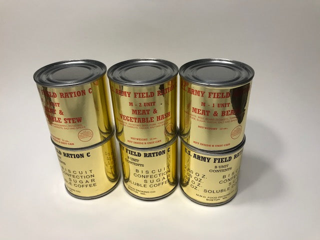 Restock on Refillable C Ration Cans