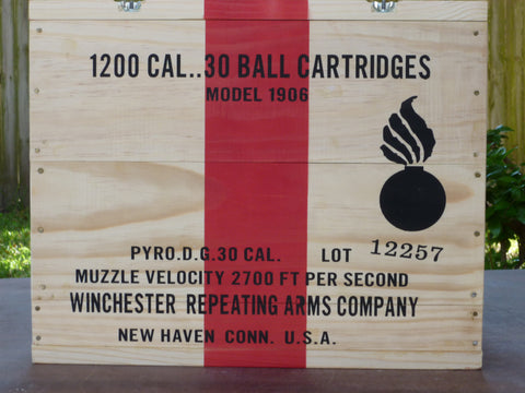 WW1 U.S. Ration and Ammunition Crates