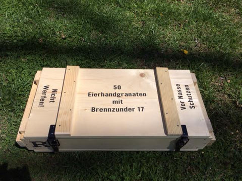 WW1 German Ration and Ammunition Crates