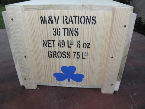 WW1 British /Commonwealth Ration and Ammunition Crates