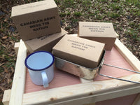 WW2 Canadian Mess Tin Ration Box