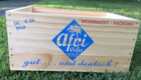 WW2 German Afri-Cola Wooden Soda Crate 24 bottles