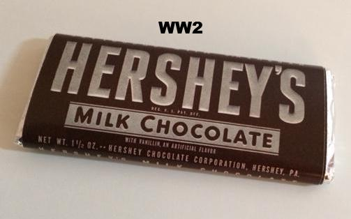 Reproduction Hershey S Milk Chocolate Wrappers
