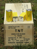 1/2 Pound TNT Block