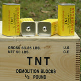 Reproduction WW2 U.S. 1/2 Pound TNT Rectangular Block