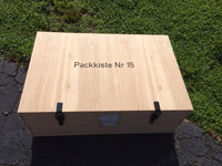WW2 German Packkiste Nr 15 wooden packing crate