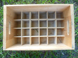 WW2 Wooden Soda Crate 24 bottles