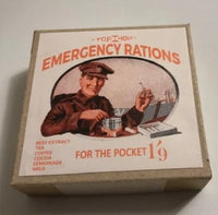 Reproduction WW1 Top Hole British Emergency Ration Box