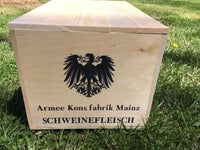 WW1 German Reproduction Wooden Ration Crate
