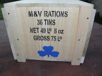 WW1 British and Commonwealth Ration Crates