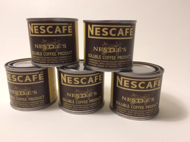 Reproduction WW2 Nescafe Coffee 2oz. Can With Label.