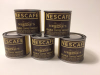 Reproduction WW2 Nescafe Coffee Can With Label.