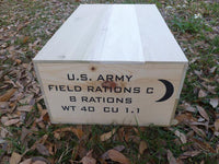 C Ration Crate (Later version)