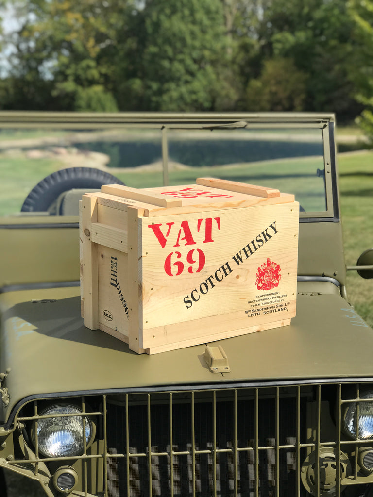 WW1/WW2 Allied Ammunition Crate Beer/Soda Cooler (Customisable)