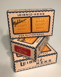 WW2 German Leibniz Keks Cardboard box