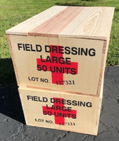WW2 U.S. Field Dressing Medical Crate