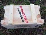 WW2 25 Lb. Wooden Dynamite Crate