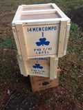 WW2 Reproduction British Wooden Ration Crate
