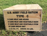 WW2 C Ration Crate (Early Version)