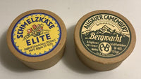 Reproduction German Cheese Ration Cardboard Containers