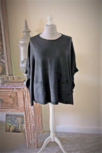 Black Lucy Poncho