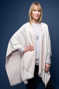Autumn /Winter Tess Wrap- Cream/Beige