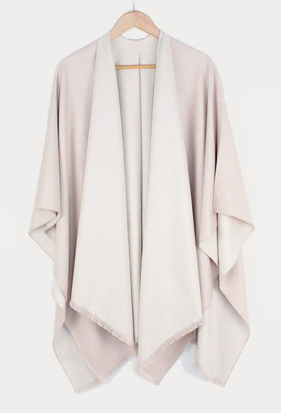 Tess Wrap- Cream/Beige
