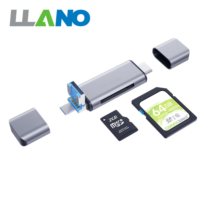 LLANO 5 IN 1 multi-function card reader | Computer Accessories