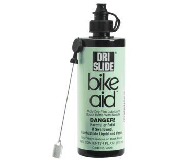 Cable Lube: Dri-Slide Bike Aid Moly Film Lubricant